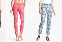 Patterned Pants / by FashionAde