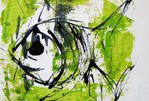 TOTEME / PAINTINGS / by Diana Gherendi