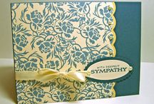 Cards - Sympathy / by Kathleen Hoover