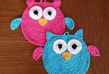 Crochet - Owls / by Rhonda Halstead