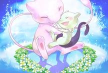 Mew (pokemon) / by Daiva Channing