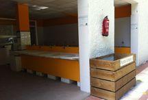 Lavaderos y fregaderos del Camping Playa de La Franca Bungalows (Asturias) / Zona de lavaderos y fregaderos del Camping Playa de La Franca Bungalows / by Camping Playa de la Franca Bungalows-Asturias