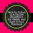 Classroom Organization / by Paula Pelton