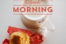 Good Morning / by Huilin Dai