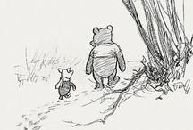 Pooh and friends / by Angharad Jones