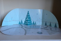 """""""Build a Town"""" Advent Calender / by Andy Marshall"""