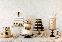 Party : Black,white,gold  / by tenthousandthspoon     Jaclyn