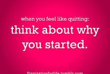 fitness things and quotes / by Randee Sorensen