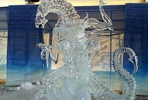 Ice Sculpture and snow sculpture / by Pamela Carty