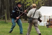 Civil War re-enactments / by Public Opinion