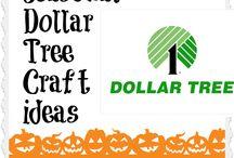 Dollar Tree Crafts  / by Heather Hammond