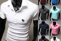 Men's Polo Shirts Collection / We've got the classic knitted option for timeless style and colorful polos for the more contemporary. Team up our polo shirts with a sweater and chinos for an on-trend preppy/collegiate look. Shop men's polo shirts at sneakoutfitters.com / by Sneak Outfitters