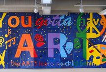Bulletin Boards / This is a collection of awesome art education bulletin board inspirations. / by Debra Troyanos
