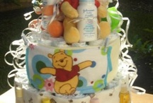 diaper cakes / by Tammy Parker