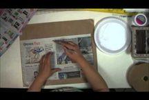 JOURNAL ART / Art journal / by Crafty Grandma
