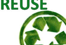 ► Reduce,Reuse, Recycle ◄ / by Elizabeth Live.Laugh.♥