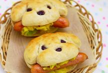 Yummy Funny Food / Edible creatures and designs / by Martha Hall
