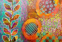 Gelli Printing / Who Doesn't Love Gelli Printing??! / by Teach Kids Art