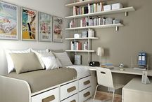 Inspiration office/guest bedroom / by Donna Huoppi