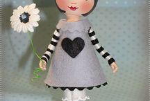 Dolls: Cloths pin dolls / by Gloria Medina