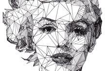 {men, women and art} / by Stine Pedersen