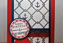 Nautical Cards / by Maria Benitez