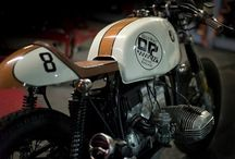Café Racer, Retro, Moto.... / La vieja escuela. Sólo apto para moteros con buen gusto. / by Xavier