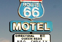Get Your Kicks on Route 66 / U.S. Route 66 was one of the original U.S. highways. Route 66 was established on November 11, 1926 – with road signs erected the following year. The highway, which became one of the most famous roads in America, originally ran from Chicago, Illinois, through Missouri, Kansas, Oklahoma, Texas, New Mexico, Arizona, and California, before ending at Los Angeles, covering a total of 2,448 miles. / by rentzio