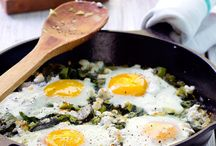 Recipes- Break-Fast!! / Breakfast food! Much eggs. Such ham. / by Caitlin A. Bentley
