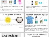 Homemade Cleaning Solutions / by Elaine Baker