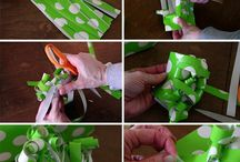 Gift Wrap Ideas & Tutorial / Gift wrap ideas and tutorials - not holiday themed / by Kelly Serfes