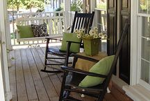 spaces: outdoor living. / by Danell Thompson