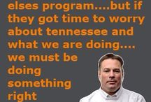 Tennessee Vols / Tennessee sports / by Lee Campbell