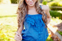 Younger girl poses  / by Melissa Barker Photography