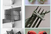 making bows / by Jessica Elaine
