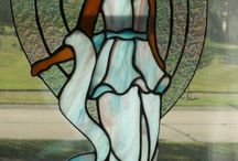STAINED GLASS ANGELS / by Debra Shipley