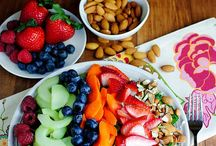 Healthy snacks/food options / by Cindy Campbell