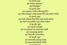 Workouts / by Sammie Kennedy