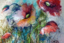 Felting - Landscapes / Painting with Wool / by Anriette Pretorius