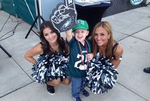 #EaglesCheer / Our elite Philadelphia Eagles Cheerleaders are all about fun, fitness and #FlyEaglesFly / by Philadelphia Eagles