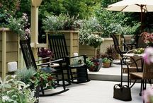 Home - Backyards.Porches.Pattios / by Amy Hild