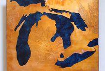 Regional Creativity / Any artistry we see that represents Michigan's Great Lakes Bay Region brings a smile to our faces =) / by Great Lakes Bay Region CVB