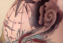 Tattoos  / by Caleb Sills