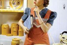 Vintage Kitchens / by Jan, blogging at... {jancooks.blogspot.com}
