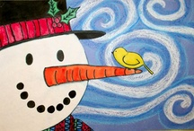 Winter Art Projects / by Emma Fosnaugh