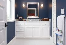 Boys Bathroom remodel / fixing up the boys bathroom  / by Mosey Photography