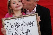 daddy daughter dance / by Valerie Gabrione