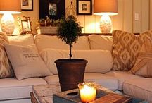 living rooms / by Pamela Hill