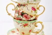 Tea Party / Tea cups mostly / by Kathi Nees