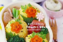 Bento Ideas / A board full of eye-popping Bento goodness! / by Squeesome Designs